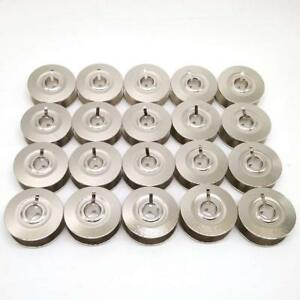 Metal Bobbins (20 Pcs)#9033NS for Pfaff 6250 6252 7510 7530 7550 7560 7562 7570