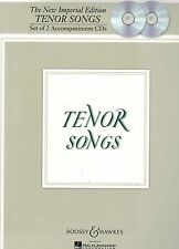 NEW The New Imperial Edition Tenor Songs Set of 2 Accompaniment CDs FREE AU POST
