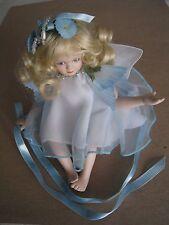 "Porcelain 6"" Sitting Fairy Doll"