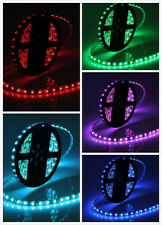 5M 24V RGB 5050SMD LED Flexible Tape Light Strip Ligh Only, Black PCB