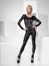 Combinaison sexy squelette design OS COSTUME EXTENSIBLE NOIR