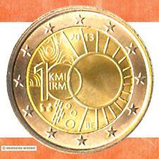 Sondermünzen Belgien: 2 Euro Münze 2013 Meteorologisches Institut Sondermünze