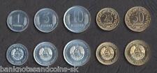 TRANSNISTRIA COMPLETE COIN SET 1+5+10+25+50 Kopeek 2000-2005 UNC UNCIRCULATED