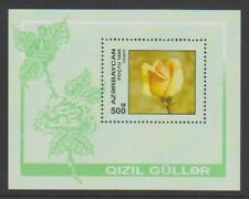 Azerbaijan - 1996, Roses, Flowers sheet - MNH - SG MS338