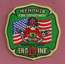 MEMPHIS TENNESSEE FIRE DEPARTMENT ENGINE COMPANY 14 PATCH YOSEMITE SAM