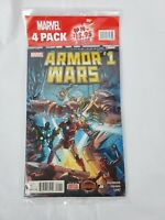 Marvel 4 Pack Comic Books 3 Random Comics and Armor Wars #1 Secret Wars