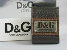 Dolce & Gabbana D&G Unisex Leather Bracelet Limited Edition NWT in Box Italy