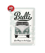 22213 Placa metálica 20x30 volkswagen good things nostalgic art coolvintage