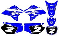 Yamaha TTR 230 GRAPHICS KIT DECALS DECO Fits Years 2005 - 2019 TTR230