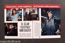 CF72 - Clipping-Ritaglio -1967- NOTIZIE MUSICA , CELENTANO DON BACKY