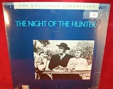 Laserdisc G * The Night of the Hunter * Robert Mitchum Shelley Winters Criterion