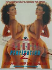 Alicia Monet in Double Penetration Video  Promo Ad Slick Poster