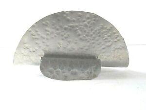 Hammered Aluminum Napkin Taco Holder