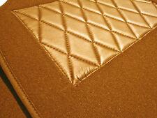 Kompl. Teppichsatz für Fiat X1/9 Velour Cognac 360