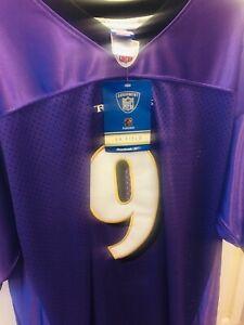 Steve Mcnair 🎊On Field🎊 Jersey Baltimore Ravens Purple (54-2XL)