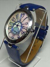 August Steiner AS01BU Eternity Swiss Quartz Blue Strap Womens Watch