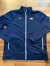 Umbro XL Spain National Soccer Team Navy Long Sleeve Zip Up Jacket