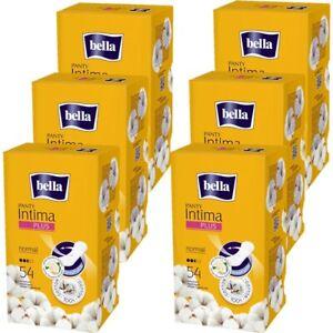 bella Slipeinlagen Panty Intima Plus Normal, 6er Pack (6 x 54 Stück)