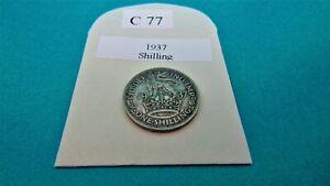 1937 ENGLISH SHILLING 1/-
