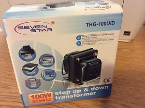 Seven star thg-100U/D step up & down transformer 100 Watts