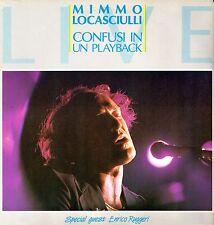"""MIMMO LOCASCIULLI - Confusi In Un Playback 1985 (Vinile=NM) LP 12"""""""