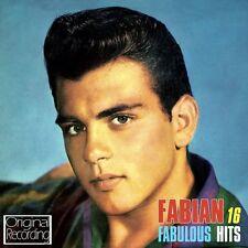 FABIAN - 16 FABULOUS HITS (NEW SEALED CD) ORIGINAL RECORDING-TIGER-HOUND DOG MAN