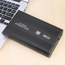 3.5'' SATA to USB3.0 External HDD SSD Enclosure Hard Disk Drive Caddy Case Box