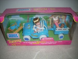 1998 Tommy & Kelly Power Wheels by Fisher-Price Motorized Jeep             4025