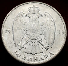 More details for yugoslavia 50 dinara 1938 (h2506)
