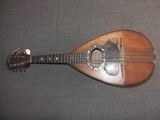 sehr alte Mandoline original Fratelli Tassinari Napoli 1897 very old mandolin