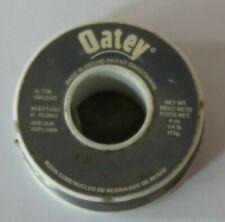 1 Roll 4 (3.8) oz. 40/60 Rosin Core Solder (40% Tin / 60% Lead) New/Old Stock