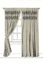 "NEW ANTHROPOLOGIE SEVEN SEAS NAMIBIA CURTAIN WINDOW PANEL 50"" X 84"""