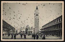 AX0285 Venezia - Città - Piazza San Marco e Campanile - Animata