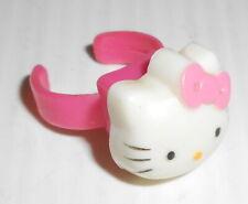HELLO KITTY 2000s Sanrio Japan mini plastic ring - anello in plastica giocattolo