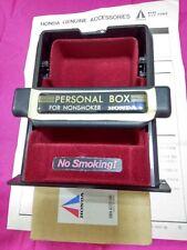 JDM RARE!! PERSONAL BOX COIN TRAY FOR NONSMOKER HONDA >> NO SMOKING!