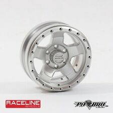 "Pit Bull RC 1.9"" Raceline ""Combat"" Aluminum Wheels - Silver (4) PBTPBW19CMAA"