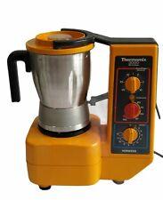 VORWERK THERMOMIX 3000 ORANGE vintage chauffe mixe robot cuisine fonctionne