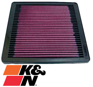 K&N REPLACEMENT AIR FILTER FOR MITSUBISHI 3000GT 6G72T TWIN TURBO 3.0L V6