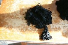1 dz  3 inch tassels-- Black  Color, new