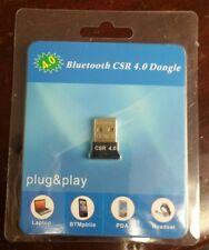 Mini Bluetooth 4.0 USB 2.0 CSR4.0 Dongle Adapter For Win 10 8 7 XP Laptop PC