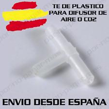 TE DE PLASTICO PARA TUBO AIREADOR DE ACUARIO OXIGENADOR CO2 AIRE
