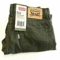 Levi Strauss & Co Women's Pants Levi's 513 Slim Straight - Ivy Green