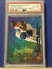 Chipper Jones - 1998 Flair Showcase Legacy Collection Row 0  PSA 8  #69/100