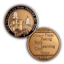Logan Utah LDS / Mormon Temple Keepsake Challenge Coin