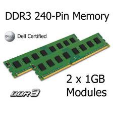 Memoria (RAM) de ordenador con memoria interna de 2GB PC3-10600 (DDR3-1333) 2 módulos