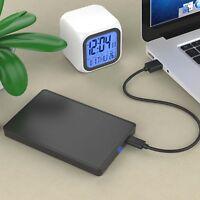 "Fast USB 3.0 SATA 2.5"" Inch Hard Drive External Enclosure HDD Mobile Disk Case"