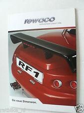 D561 BROCHURE REWACO TRIKES RF1 2005 ? GERMAN 8 PAGES
