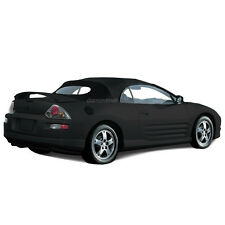 Mitsubishi Eclipse 2000-2005 Convertible Soft Top & Glass window Black Sailcloth