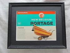 NEW BELGIUM PORTAGE BEER SIGN  #1169