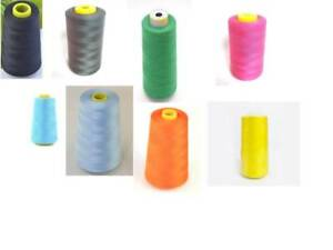 2950Yards2700Metres Sewing Thread  Top Quality 120S Spun Polyester Overlocking